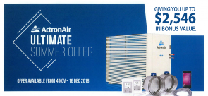 ActronAir-Ultimate-Summer-Offer