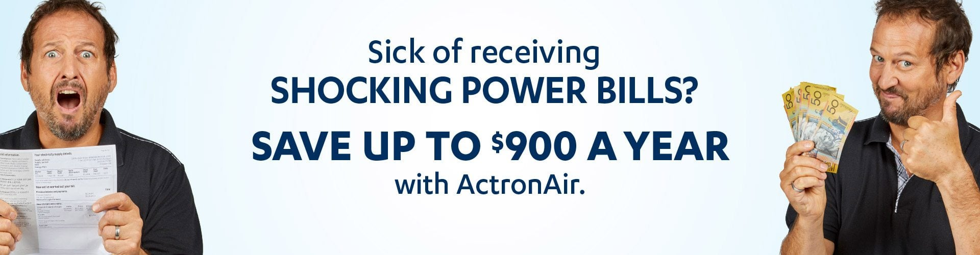 save up to $900 a year with actron air