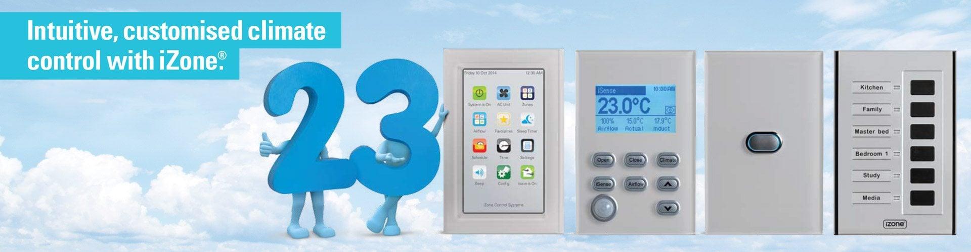izone customised climate control air conditioning